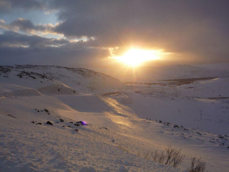 Coucher de soleil Mehamn