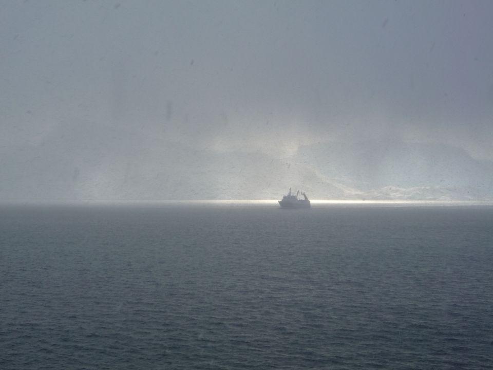 Bateau ocean arctique