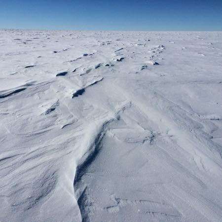 (c) Accross Antarctica