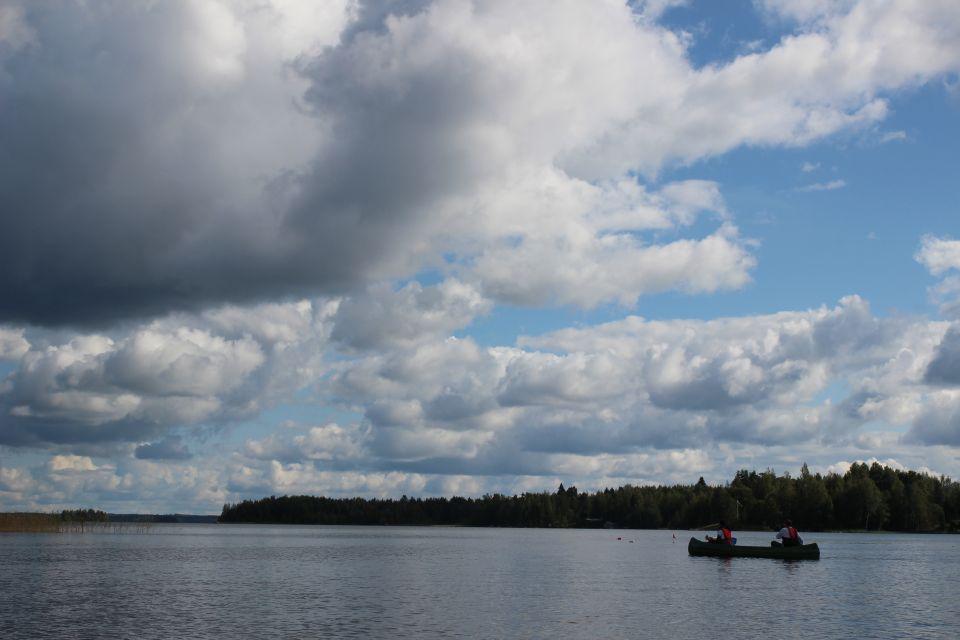 Descente de rapides finlandais