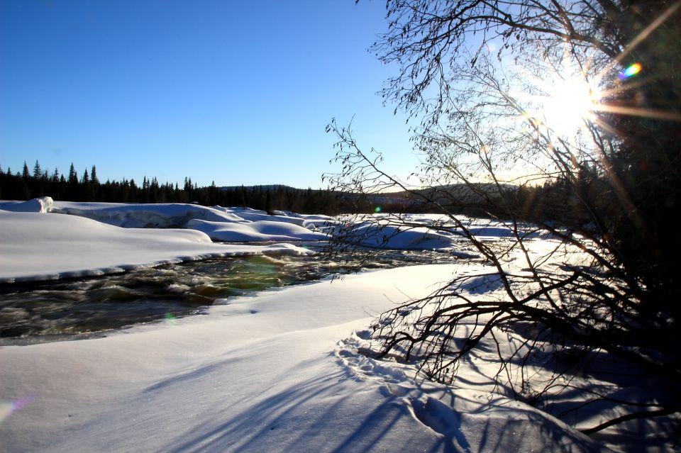 Rivière Kalix - Laponie Carnets Nordiques