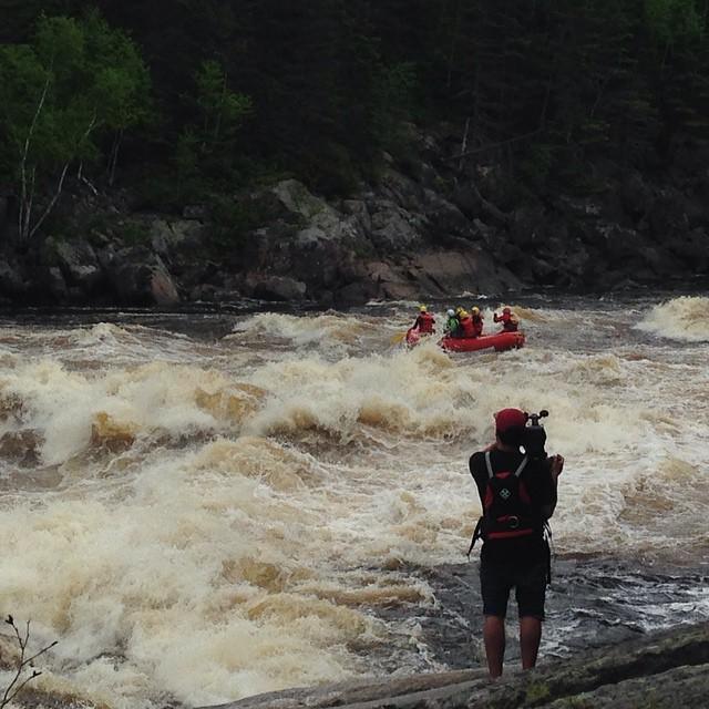 Québec, Saguenay, rafting sur la Mistassibi