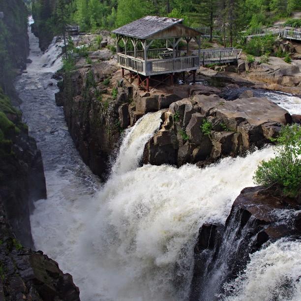 Québec, Saguenay, Rivière à Mars, Bec en Scie