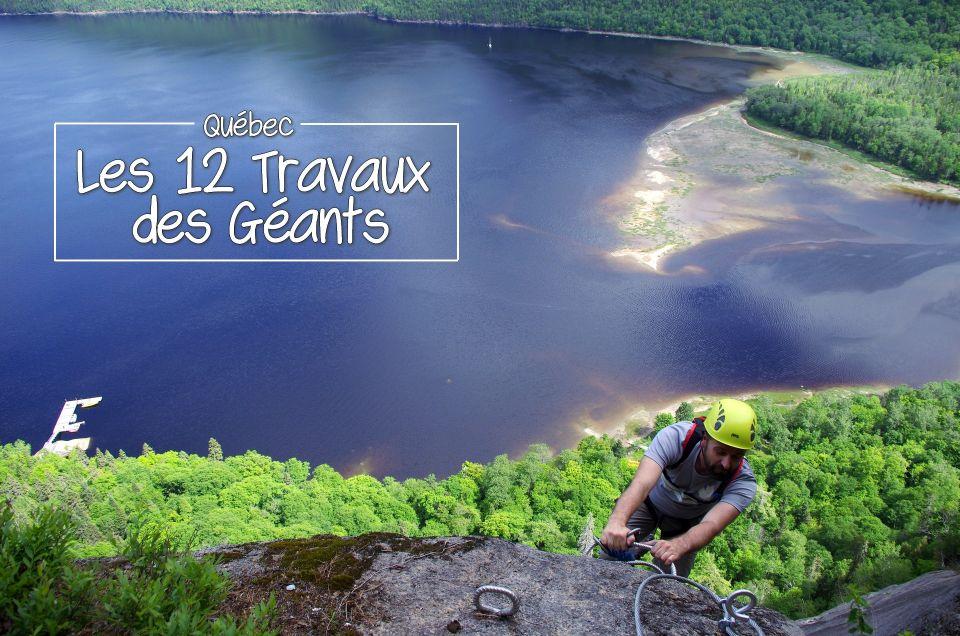 Outdoor au Québec : les 12 Travaux des Géants