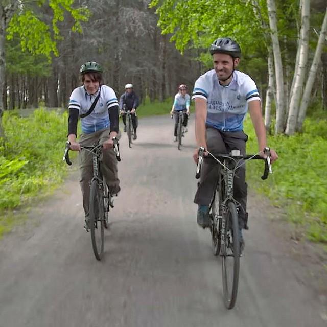 Québec, Saguenay, Lac Saint-Jean, Véloroute des Bleuets