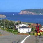 La Gaspésie en vélo