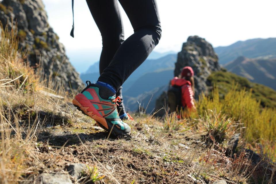 test chaussures Merrell randonnée femme