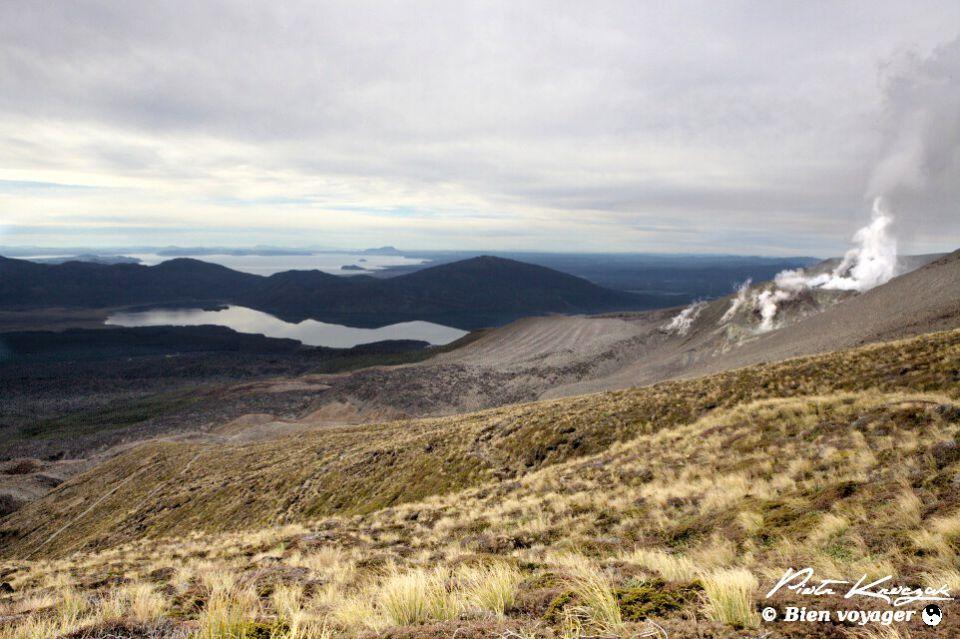 Trek de Trongariro en Nouvelle-Zélande