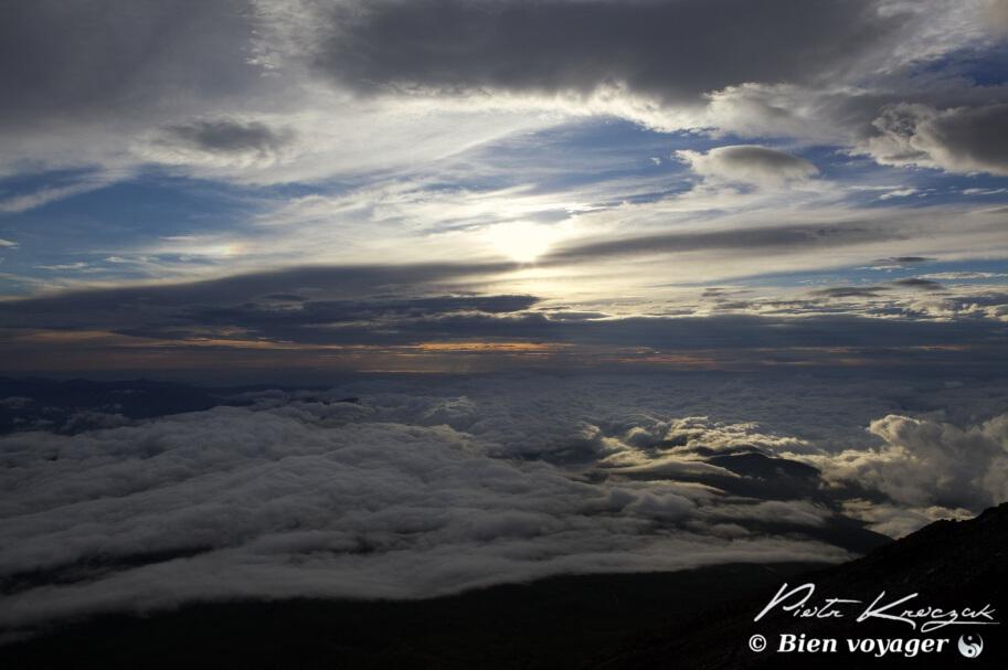 Ascension du Mont-Fuji