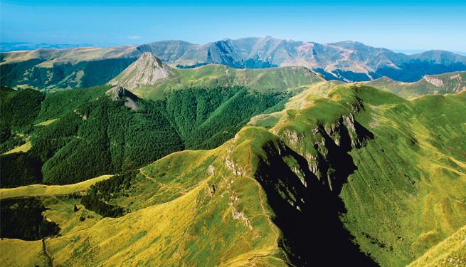 Sur les sentiers du trail dans le Cantal