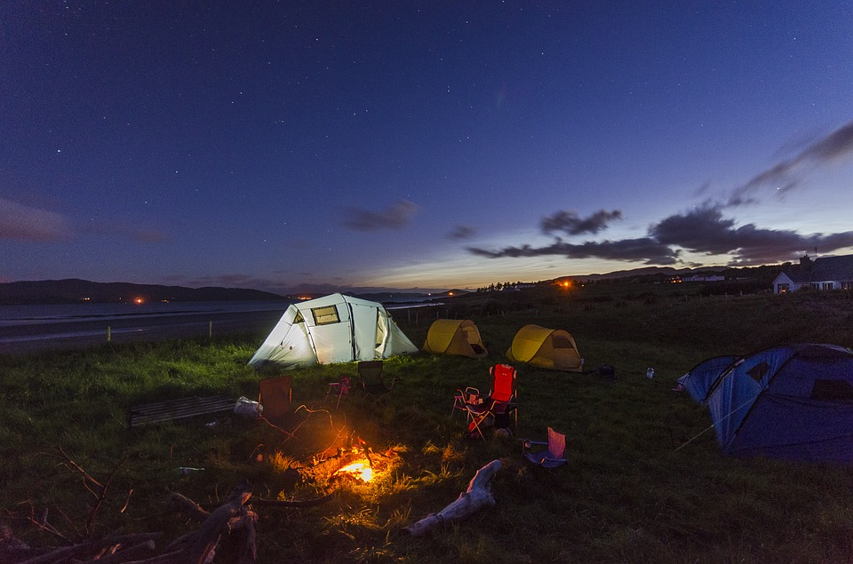 Mon premier camping